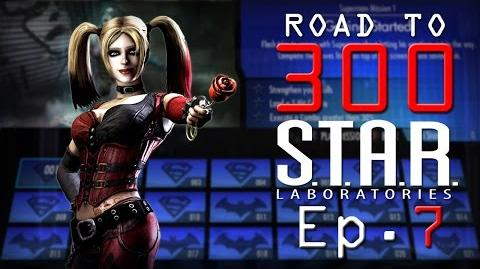 Road to 300 - Ep.7 - Harley Quinn (S.T.A.R. Labs Mission 61-70)
