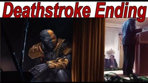 Injustice Gods Among Us - Deathstroke Ending 【HD】
