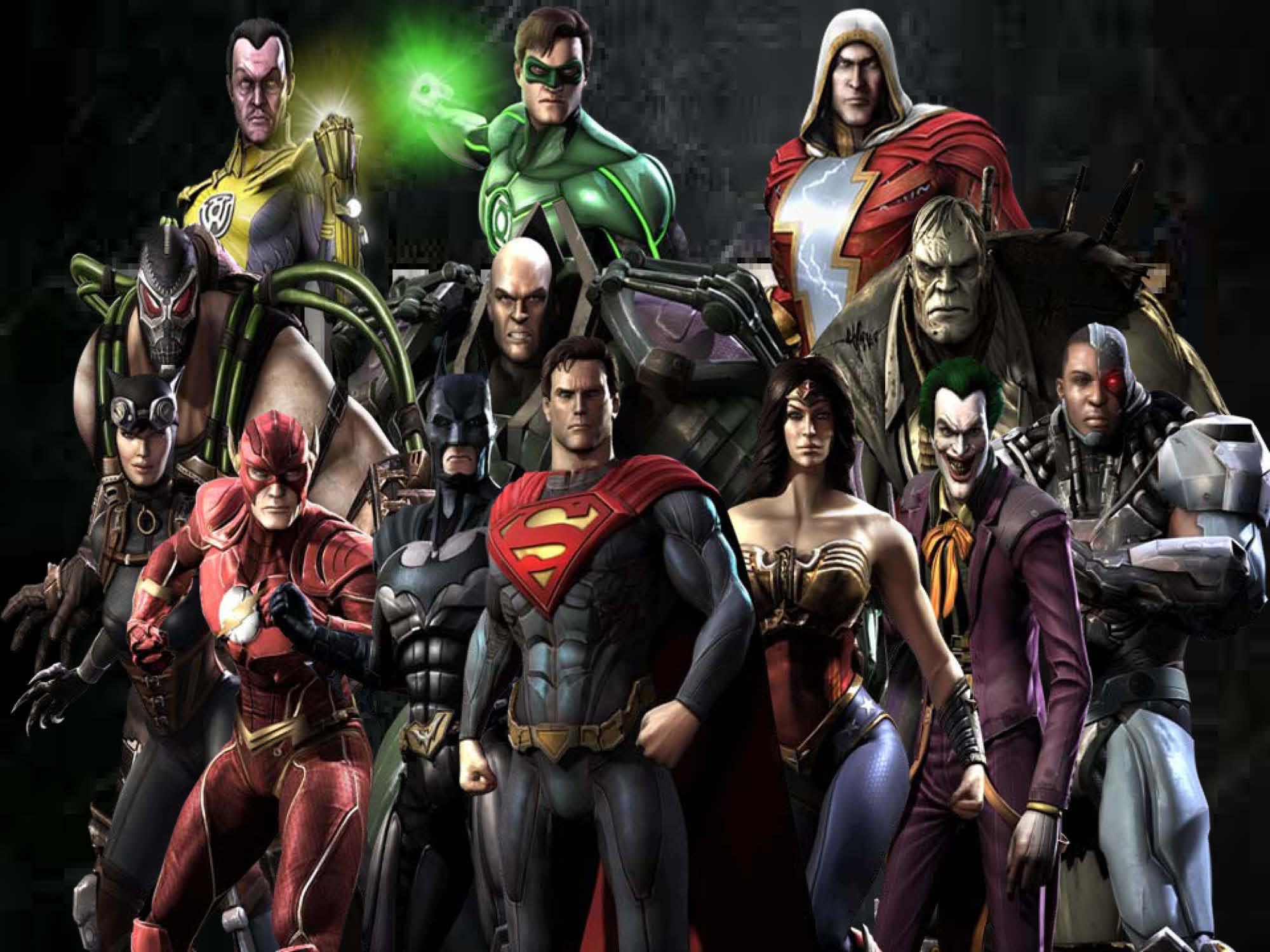 Dc Heroes Injustice Wallpaper Main