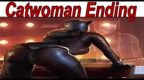 Injustice Gods Among Us - Catwoman Ending 【HD】