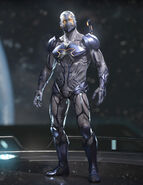 Blue Beetle - Galactic Midnight - Alternate