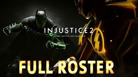 Injustice 2 - Full Roster (All Fighters, Attributes & Arenas)