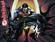 Superman breaks Batman