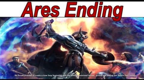 Injustice Gods Among Us - 'Ares Ending' 【HD】