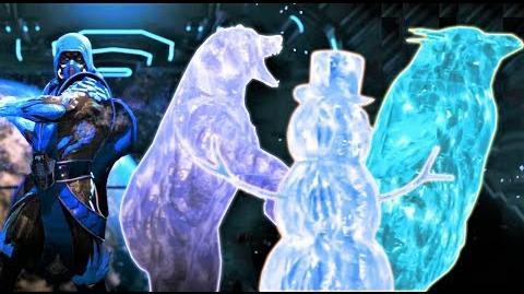INJUSTICE 2 - ALL MK3 ANIMALITY FRIENDSHIP ICE CLONES!! Zub-Zero Friendship, Scorpion Penguin