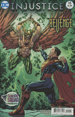 Injustice Gods Among Us Year Five Issue 15 Cover