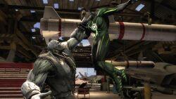 Grundy vs Green Lantern