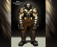 Bane Alternate Costume Concept Art