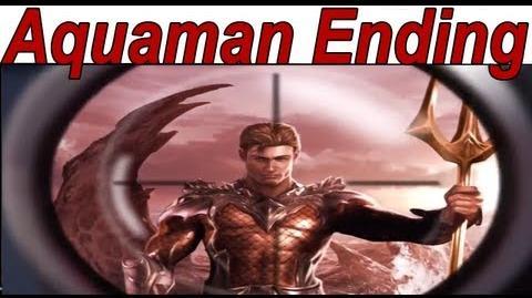 Injustice Gods Among Us - 'Aquaman Ending' 【HD】