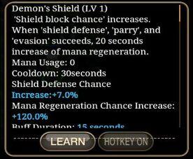 Demon's Sheild