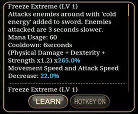 Freeze Extreme