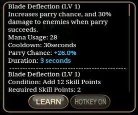 Blade Deflection