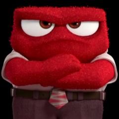 Anger as seen in  the Inside Out Teaser Trailer