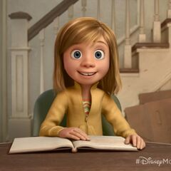 Riley, as seen in the Disney Movies Anywhere special peek (08-26-2014)