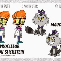 M.A.D Cat's 2D designs by Ken Turner