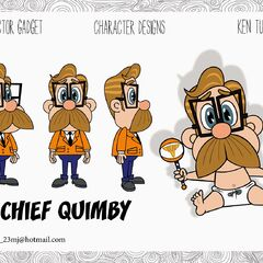 Chief Quimby's 2D designs by Ken Turner
