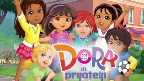 Dora and Friends Into the City! - theme song (Slovene)