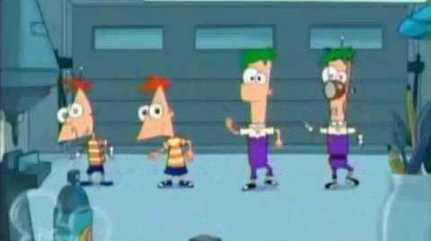 Phineadroids and Ferobots (Phineas and Ferb)- Hebrew version
