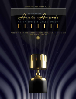Annie Awards 2014 poster