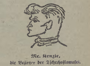 Kenzir Caricature