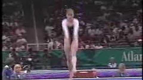 Lilia Podkopayeva - 1996 Olympics Team Compulsories - Floor Exercise