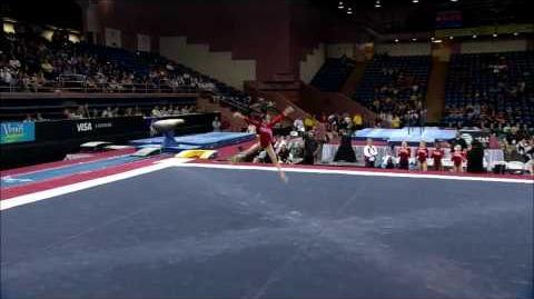 Samantha Shapiro - Floor Exercise - 2008 Pacific Rim Championships