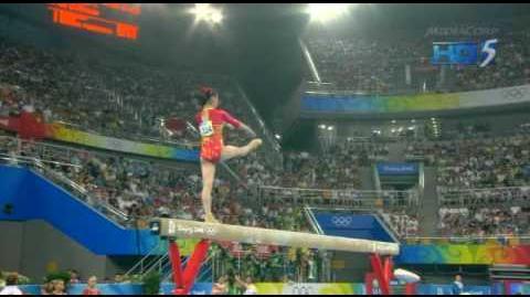 Li Shanshan - 2008 Beijing Olympics - TF BB