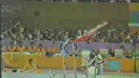 Ma Yanhong 1984 Olympics EF Bars