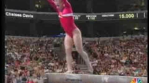 Shawn Johnson - balance beam (Olympic Trials)