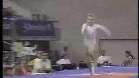 Shannon Miller - 1992 Olympics AA - Vault 1