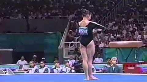 Lilia Podkopayeva - Floor Exercise - 1996 Atlanta Olympics - Event Finals