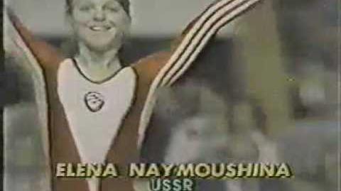 Elena Naimushina 1980 World Cup FX
