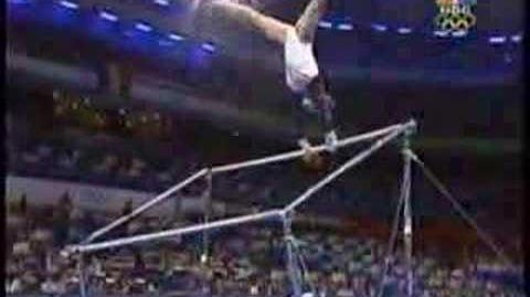 Jamie Dantzscher - 2000 Olympics Team Finals - Uneven Bars