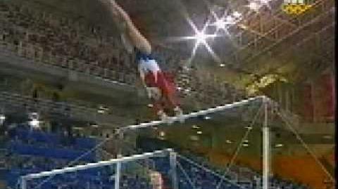 Mohini Bhardwaj 2004 Olympics Qualifications Uneven Bars (USA)