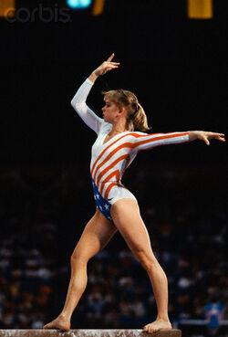 Johnson kathy 1984 olympics