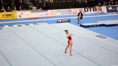 Ksenia Afanasyeva (RUS) FX - Stuttgart Team Challenge Final