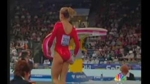 Alicia Sacramone 2007 World Championships TF Vault (USA)