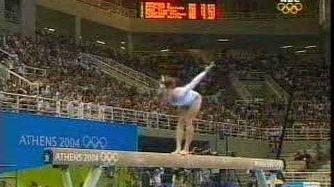 Anna Pavlova ( 2004 Olympic AA)-Balance Beam