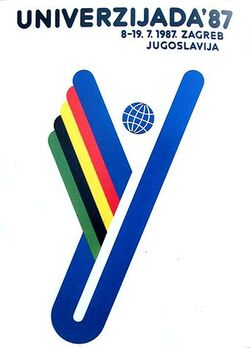 Universiade 1987 logo