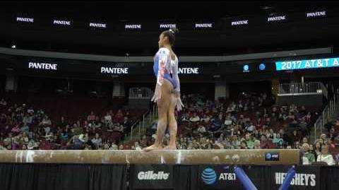 Melanie De Jesus dos Santos (FRA) - Balance Beam - 2017 AT&T American Cup
