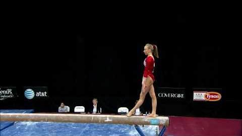 Nastia Liukin - Balance Beam - 2008 Pacific Rim Championships