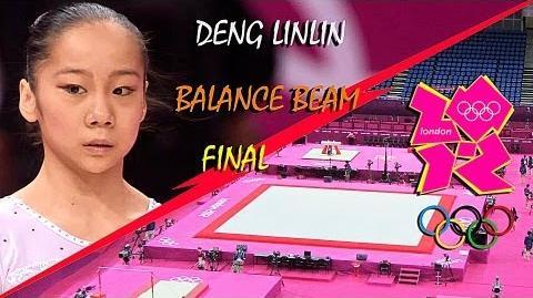 Deng Linlin (CHN) BB EF Olympic Games London 2012