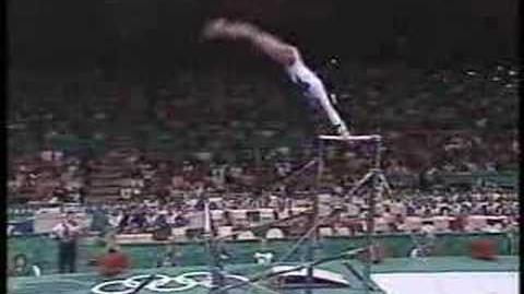 Dominique Dawes - 1996 Olympics EF - Uneven Bars