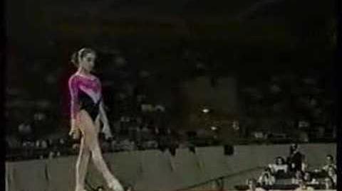 Olga Strazheva - 1989 Worlds AA - Balance Beam