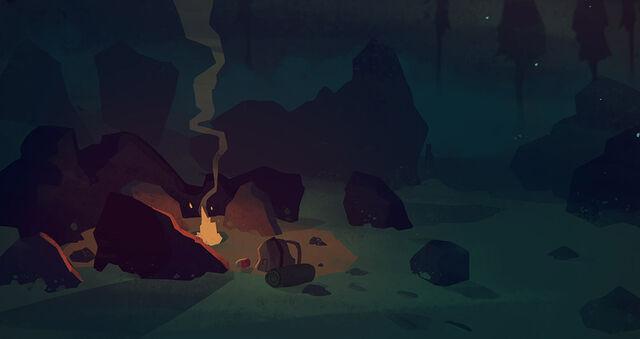 File:The Long Dark - Empty campfire.jpg