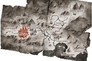 Locator map Forlorn Muskeg
