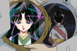 Kaguya talks to Kagura