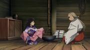 Rin gets a new kimono