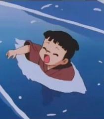 Kokichi drowning