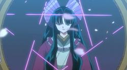 Kaguya confronts Inuyasha